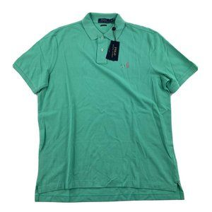 Polo Ralph Lauren Classic Fit Mesh Polo Shirt NEW